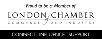 Proud to be members of London Chamber of Commerce and Industry