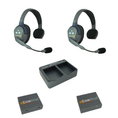 Eartec UltraLITE Theatre Intercom Wireless Comms System 2 Users - EARTEC-2SS - Showcomms