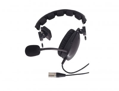 Telikou HD101 single sided headset with dynamic mic - HD-101/4 - Showcomms