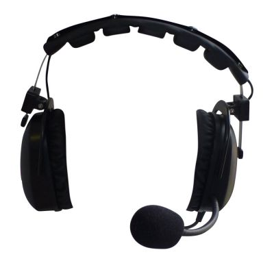 Telikou HD102 double sided headset with dynamic mic - HD-102/4 - Showcomms