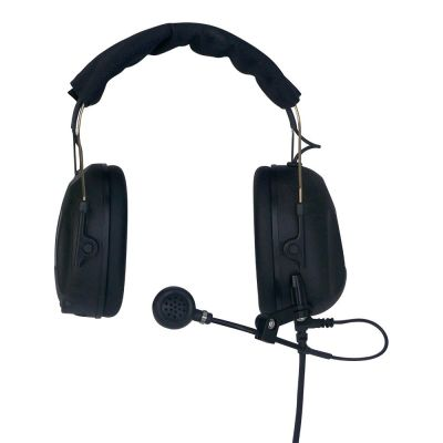 Swatcom Camera Headset 1 low profile ear cup XLR5M - AK5850H-07XLR5M - Showcomms