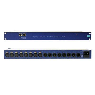 DIO88 – Eight in, eight out Dante Ethernet interface - DIO88 - Showcomms