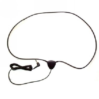 High Efficiency Induction neck loop black for Wireless Earpiece - B0801013BK - Showcomms