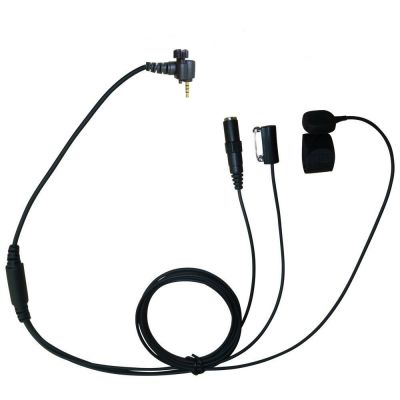 Sepura SRH3500 SRH3800 SRH3900 Covert headset with 3.5mm listen socket - TC4-SP2-JACK - Showcomms