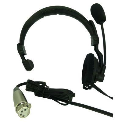 Low Cost Asl Hs1d Theatre Intercom Headset With Xlr4f