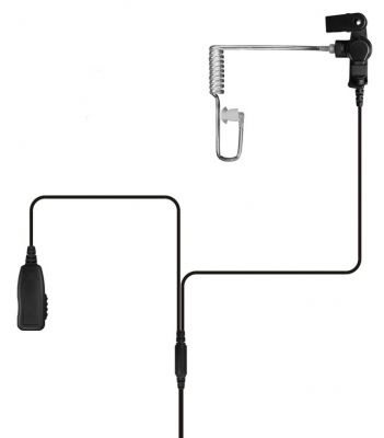 Value Motorola Mototrbo SL4000 SL4010 2 wire Earpiece with PTT mic - SL4000-2WIRE - Showcomms