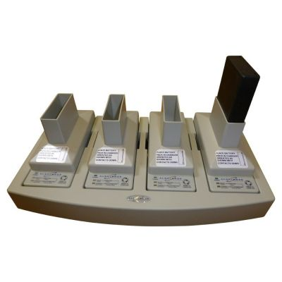 Telex BC-800NM 4 way Battery Charger with 4 NiMH batteries - F01U120581 - Showcomms