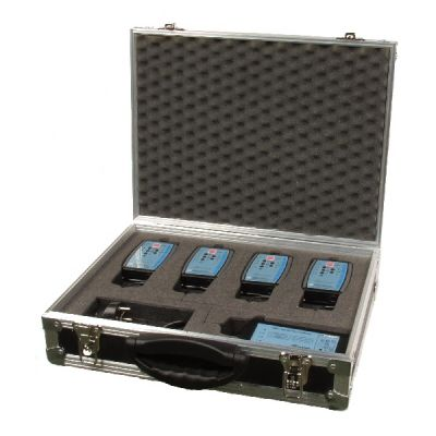 Flightcase Case for 4 way Altair wireless intercom system - ALT-CHRGR-CASE - Showcomms