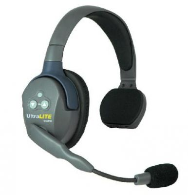 Eartec Ultralite single sided full duplex headset Licence Free Voice Activated - EARTEC-SSHS - Showcomms