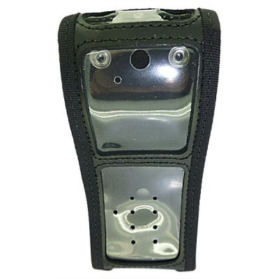 Sepura STP8038 STP8138 STP9000 Leather Case with belt clip  - RSTP8000ILGP1GSM - Showcomms