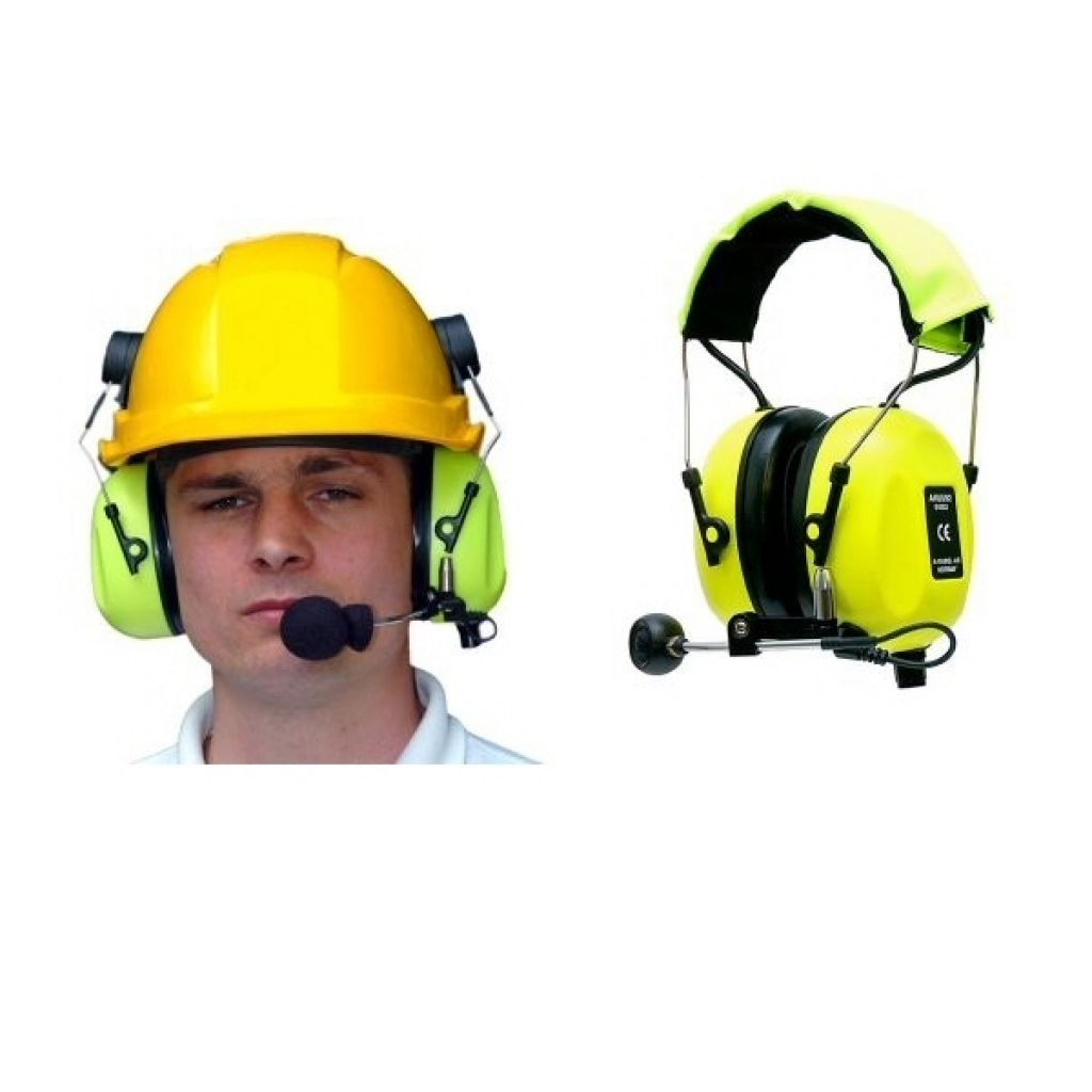 A-Kabel paired Bluetooth ear-defender Communication headset - AK-WJ-PAIR - Showcomms