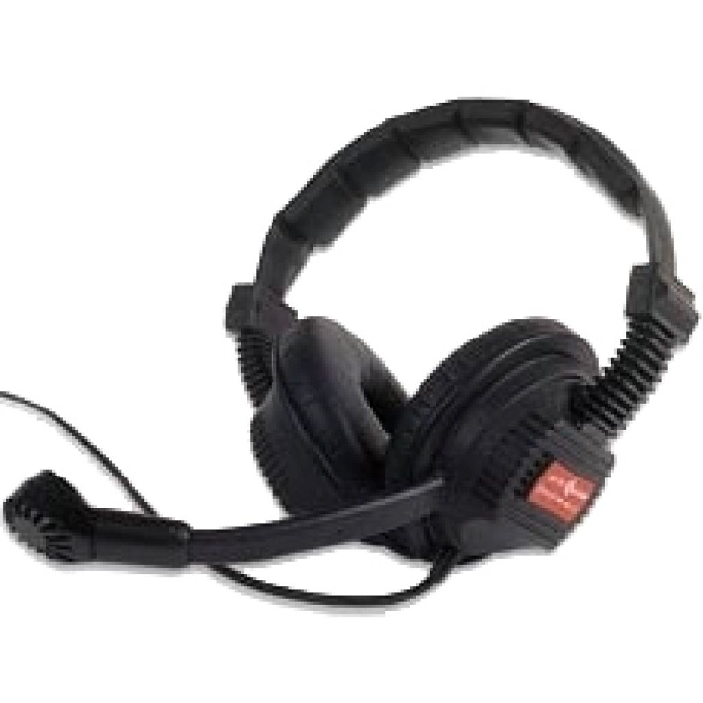 Altair 5102 Double sided headset for Altair wireless beltpack - ALT-WBP-HS-DS - Showcomms
