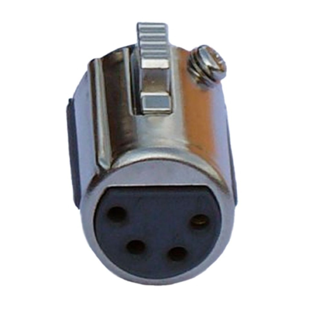 RTS beltypack BP325 replacment headset socket connector XLR4F - F01U109051 - Showcomms