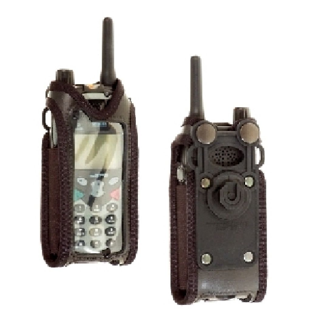 Sepura SRH3500 SRH3900 Klick Fast GSM leather case with klick Fast stud - RSRPGPSP1KFNOD - Showcomms